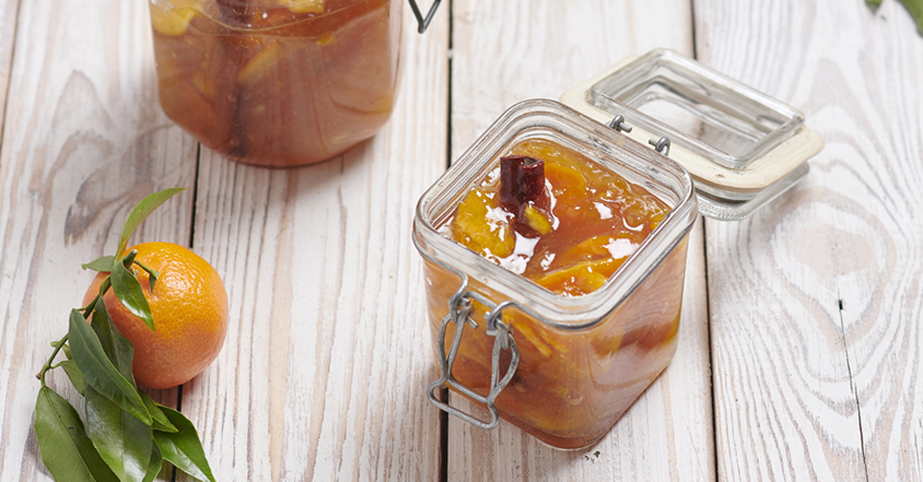 Clementine cinnamon jam